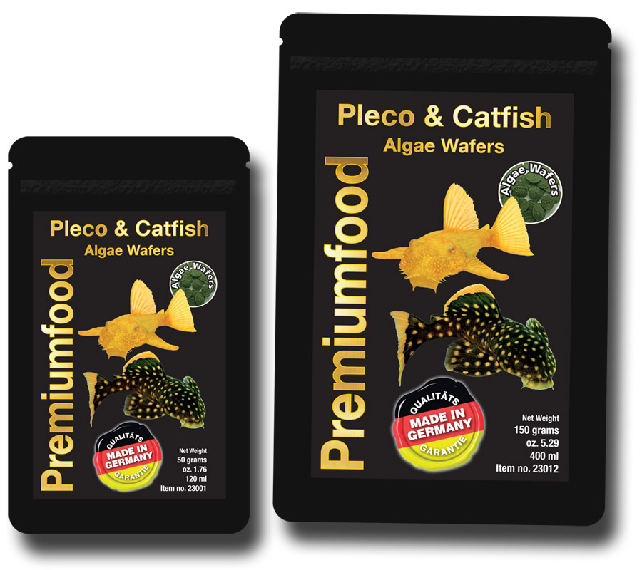 Pleco & Catfish Algae Wafers 50g & 150g bags
