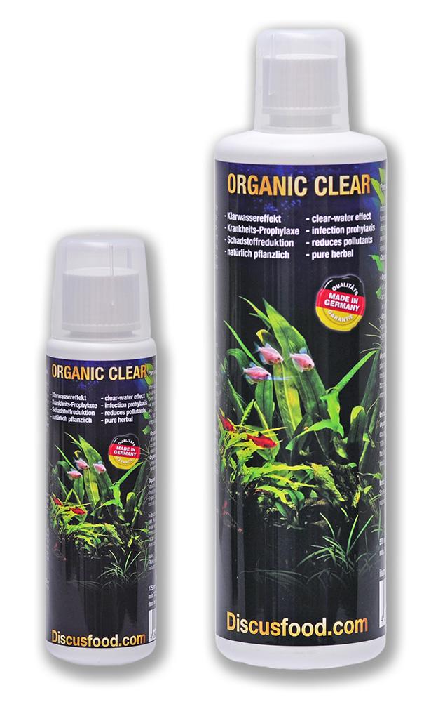 Organic Clear 125 ml & 500 ml